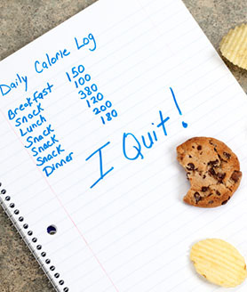 I quit calorie counting!
