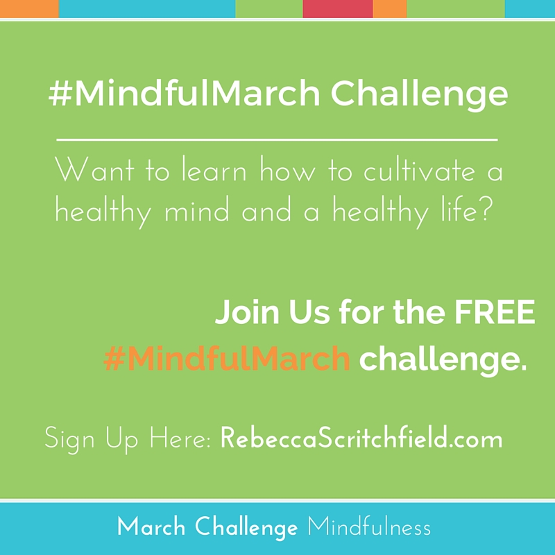 Mindful March Challenge mindfulness